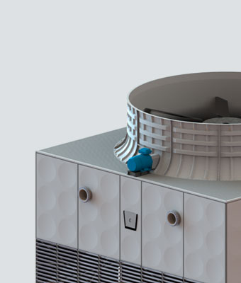 Modular Cooling Tower CMC Series | Kelvion